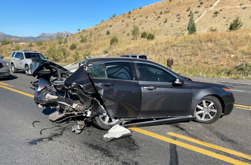 A Deer Crossing on 69 Triggers 3-Vehicle Injury Collision
