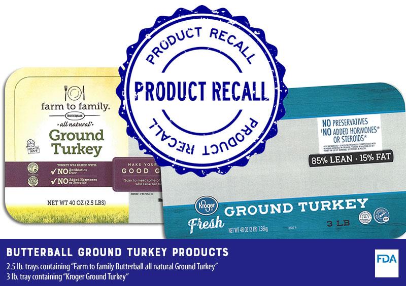 Butterball Recalls Ground Turkey Products