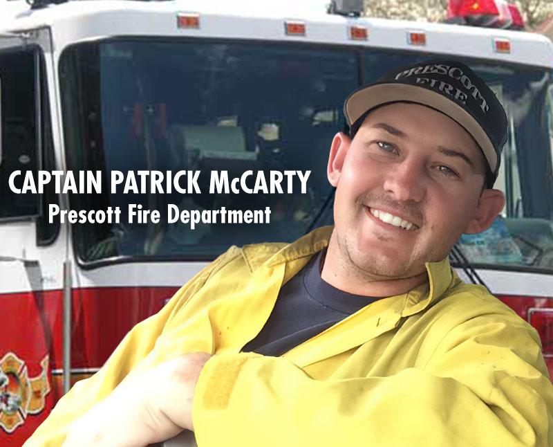 Captain Pat McCarty to Receive Lifesaving Award