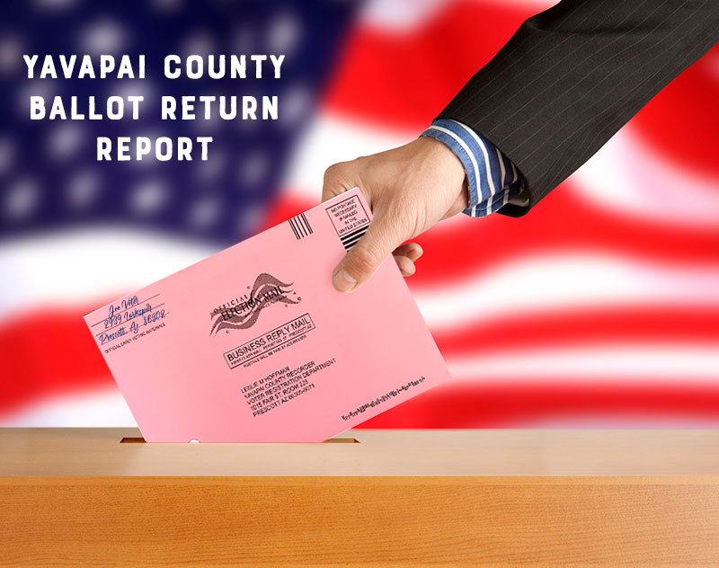 Yavapai County Ballot Returns: Tuesday, October 20