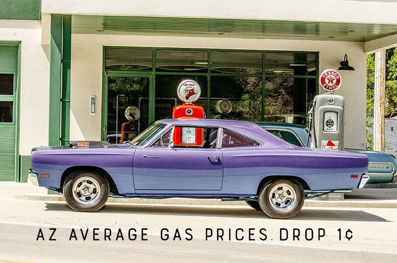 AZ Gas Prices in AZ Drop 1¢