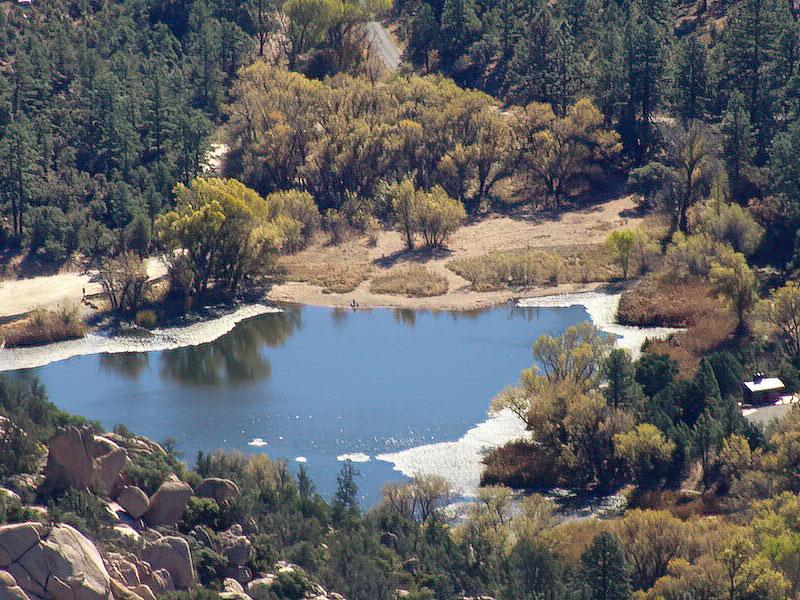 Granite Basin Lake Fish Die-Off - Swimming & Wading Advisory
