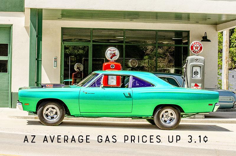 AZ Gas Prices Continue to Rise Over 3¢/gallon