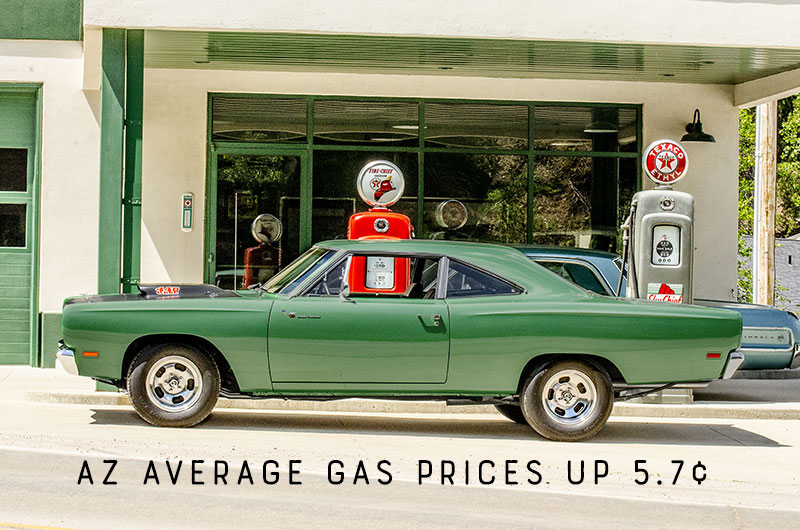 AZ Gas Prices Rise - Ouch!