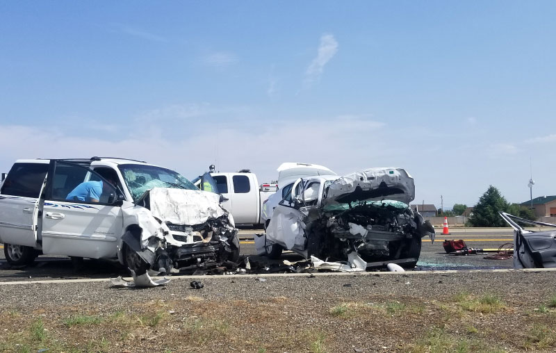 Head-On Collision Results In Two Fatalities