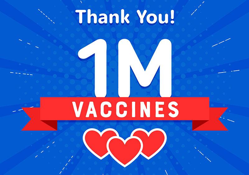 1 Million COVID-19 Vaccines in AZ