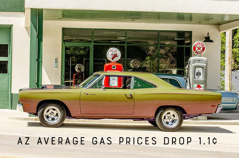 AZ Gas Prices Drop Slightly